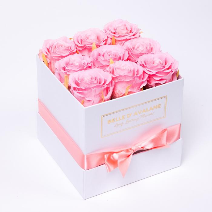 <h4>Box vk 15cm wit-roze</h4>