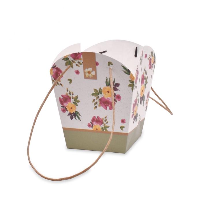 <h4>Bags Flower Creations 17/17*12/12*20cm</h4>