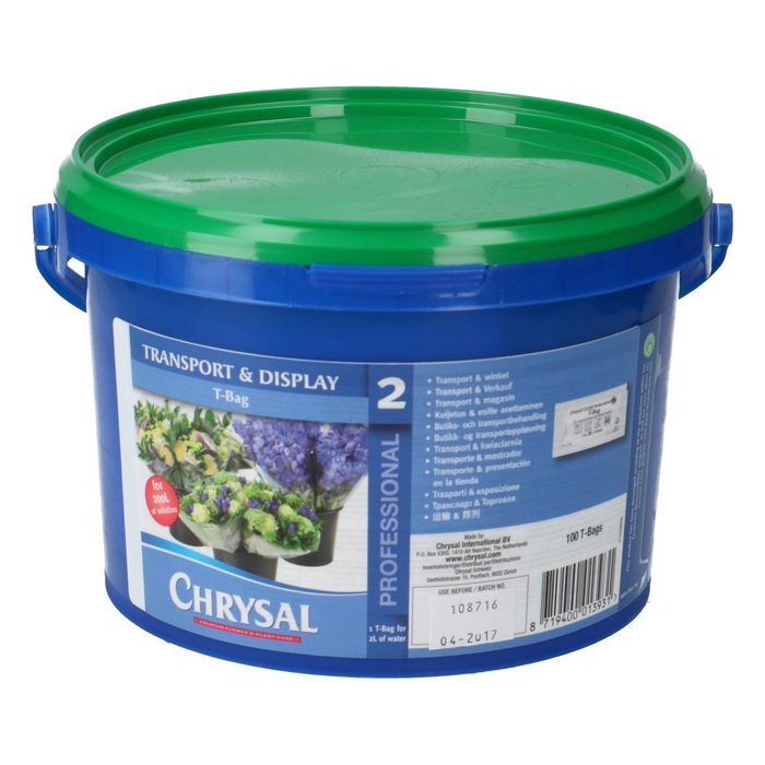 <h4>Abono organico Chrysal Prof.2 T-bag *100 2ltr</h4>