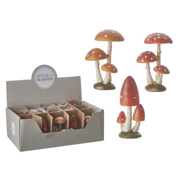 <h4>Autumn Mushrooms d5*08cm ass.</h4>