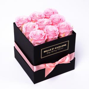 Box vk 15cm zwart-roze