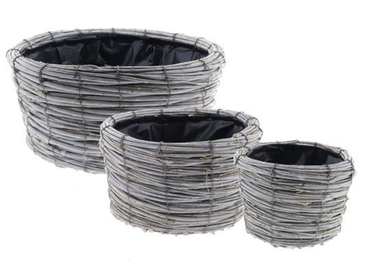 <h4>Basket Tingting S/3 Ø35x18cm</h4>