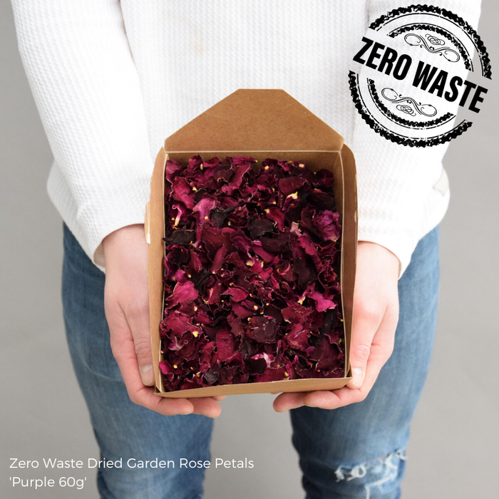 <h4>DRIED PURPLE ROSE PETALS 60g</h4>