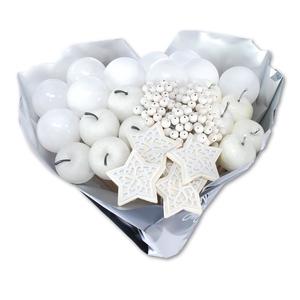 Bouquet Navidad blanco