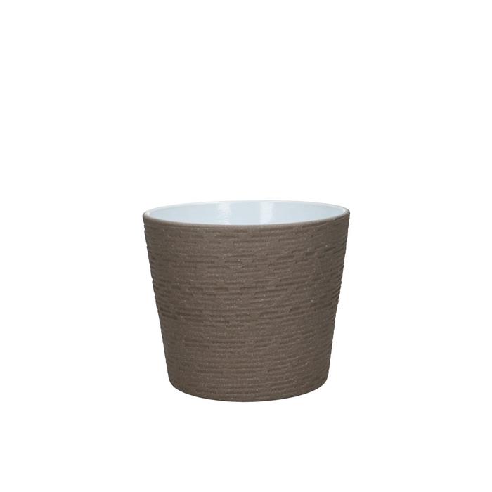 <h4>Ceramics Brick Pot d13*10.5cm</h4>