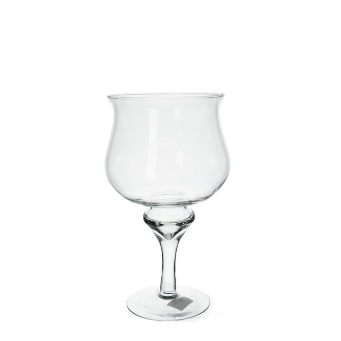 <h4>Glas Bokaal Bride d16*30cm</h4>