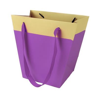 <h4>Sac Facile carton 19/12x11xH18cm violet</h4>