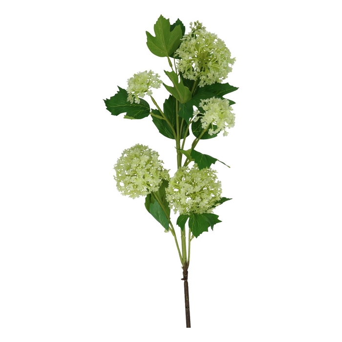 <h4>Silk Viburnum spray 75cm</h4>