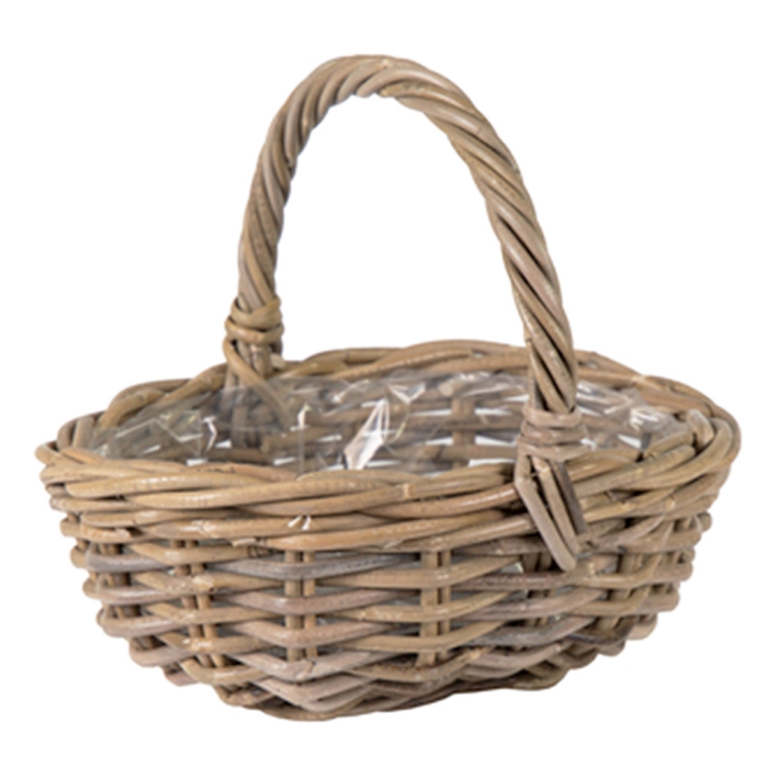 <h4>Baskets Rattan handle 36*28*14cm</h4>