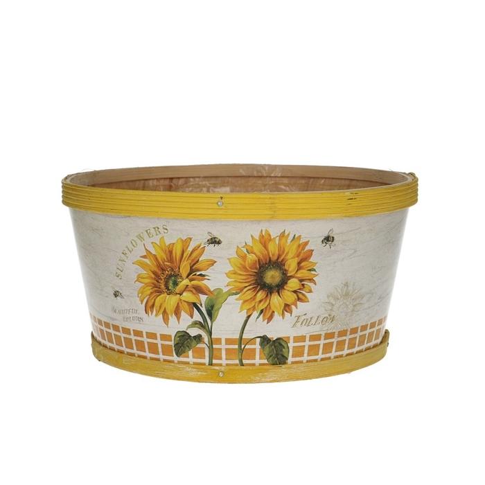 <h4>Sale Sunflower tray d22*11cm</h4>