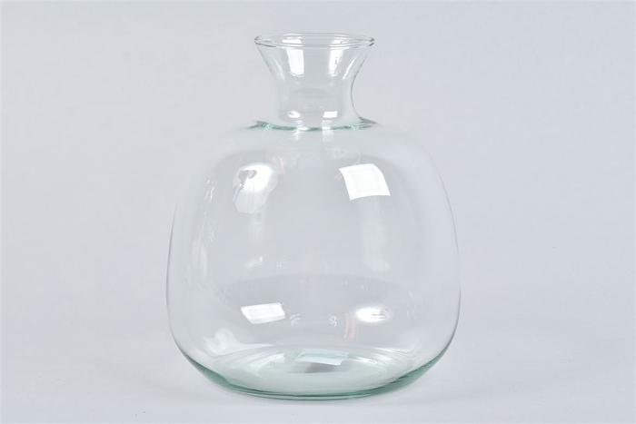 <h4>Glas Vaas Fles 17x19cm</h4>