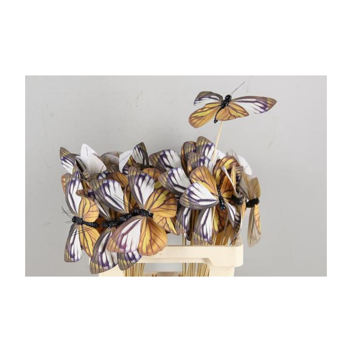<h4>Stick Butterfly Fabric Copper</h4>