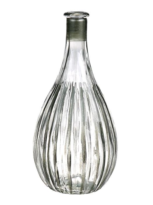 <h4>DF662808000 - Bottle Carola1 d9.7xh20 clear/green</h4>