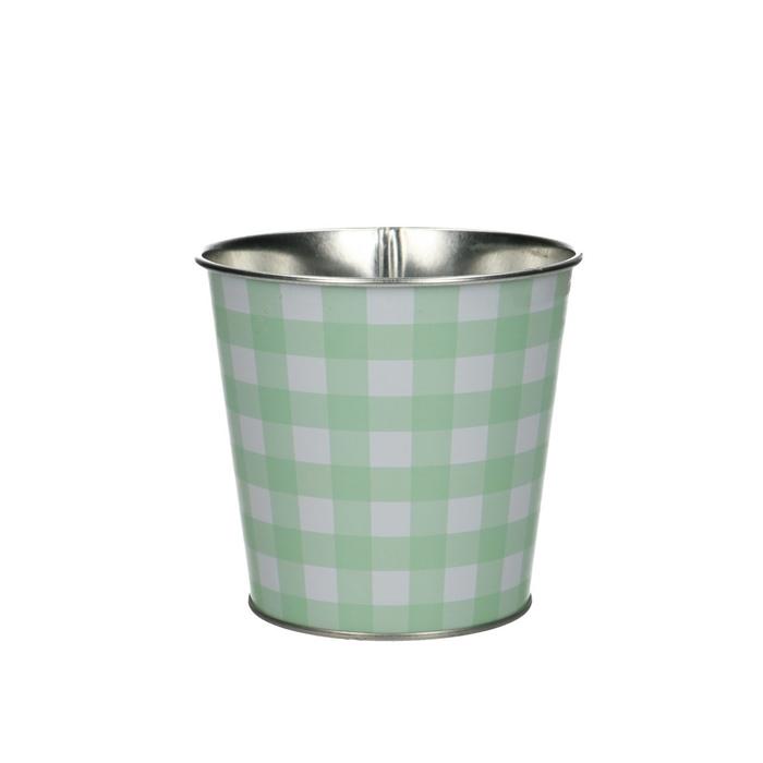 <h4>Zink Grid pot d09*9cm</h4>