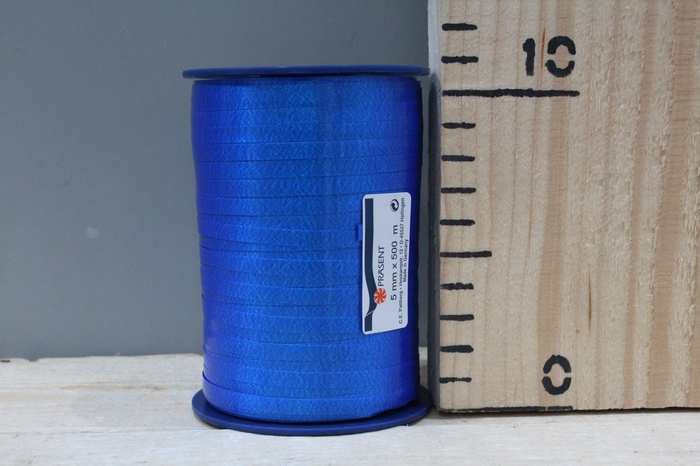 <h4>CURLY RIBBON 5MM 500M BLUE 614</h4>