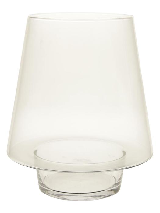 <h4>DF883455200 - Vase Trapeze d12.5/18.5xh22 clear</h4>