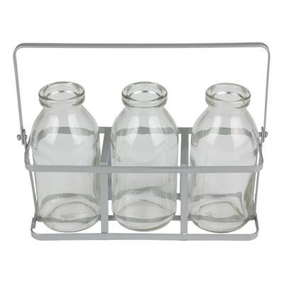 <h4>Étagère Durban verre 3 bouteilles</h4>