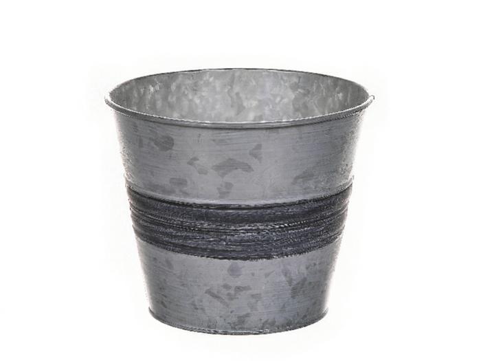 <h4>DF500061967 - Pot Yates d15.5xh13 white/grey</h4>