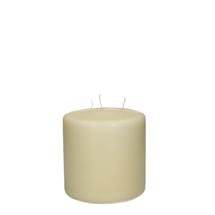 <h4>Candle Cylinder+3wich d15*15cm</h4>
