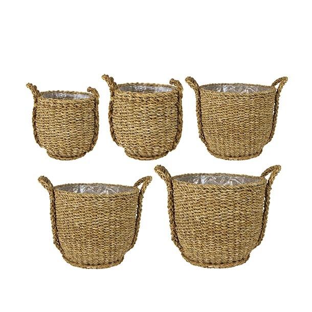 <h4>Baskets Ray pot S/5 d40*35cm</h4>