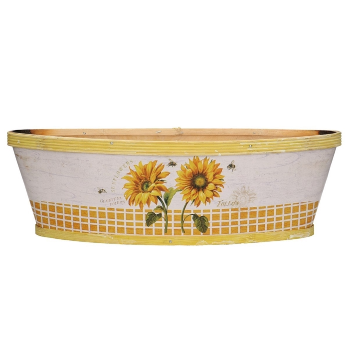 <h4>Hout Sunflower boot 37/13*11cm</h4>