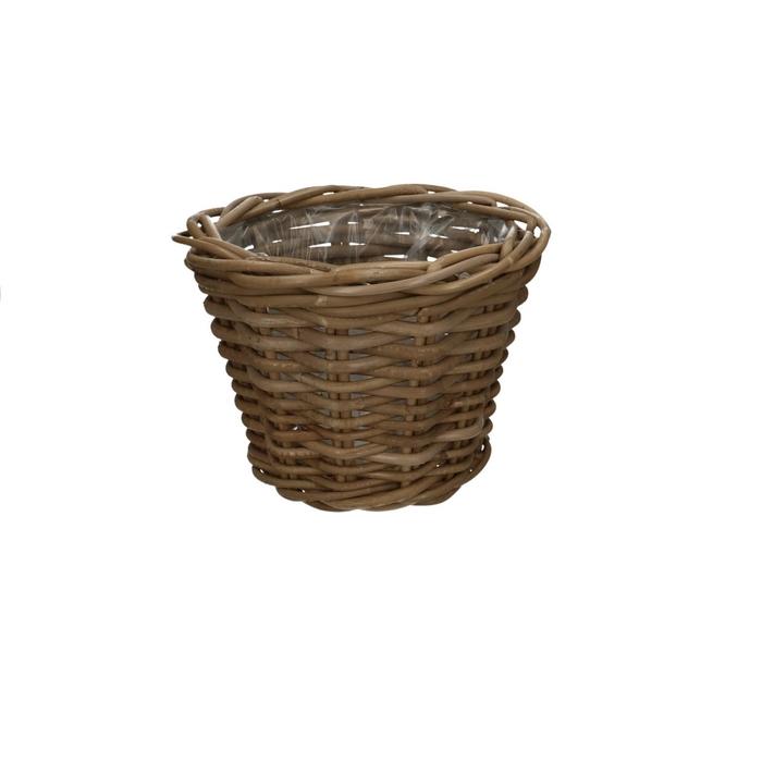 <h4>Baskets Rattan pot d25*19cm</h4>