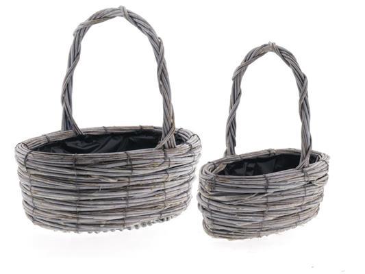 <h4>Basket Tingting S/2 40x26x14cm</h4>
