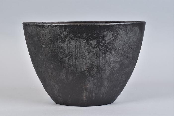 <h4>Bali Black Coal Schaal Ovl 34x16x23cm</h4>
