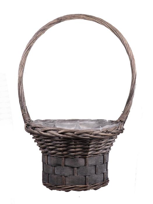 <h4>DF655552900 - H.basket Patrick1 d30xh54 grey</h4>