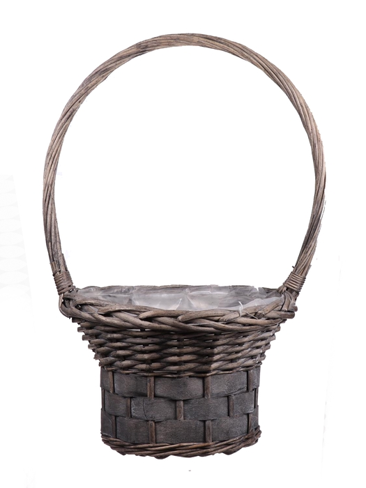 <h4>DF655552900 - H.basket Patrick1 d30xh54 grey</h4>