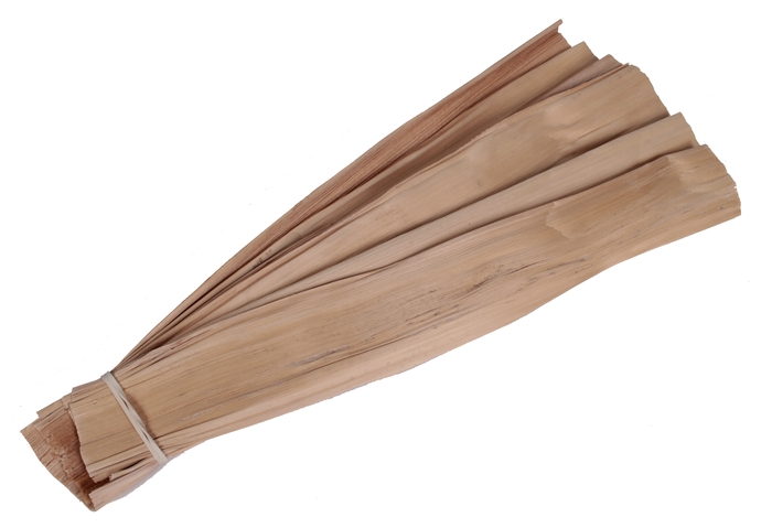 <h4>Banana leaves 10pc per bundle 10cm 45cm Naturel</h4>