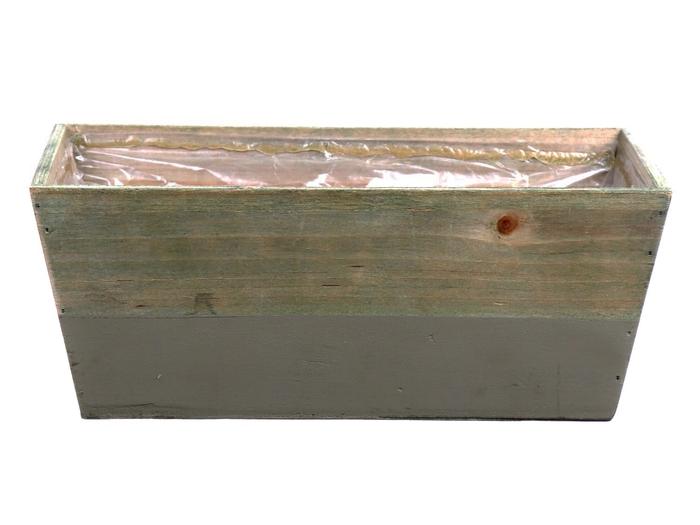 <h4>DF662680900 - Planter Argo3 25x13x10 l.grey/natural</h4>
