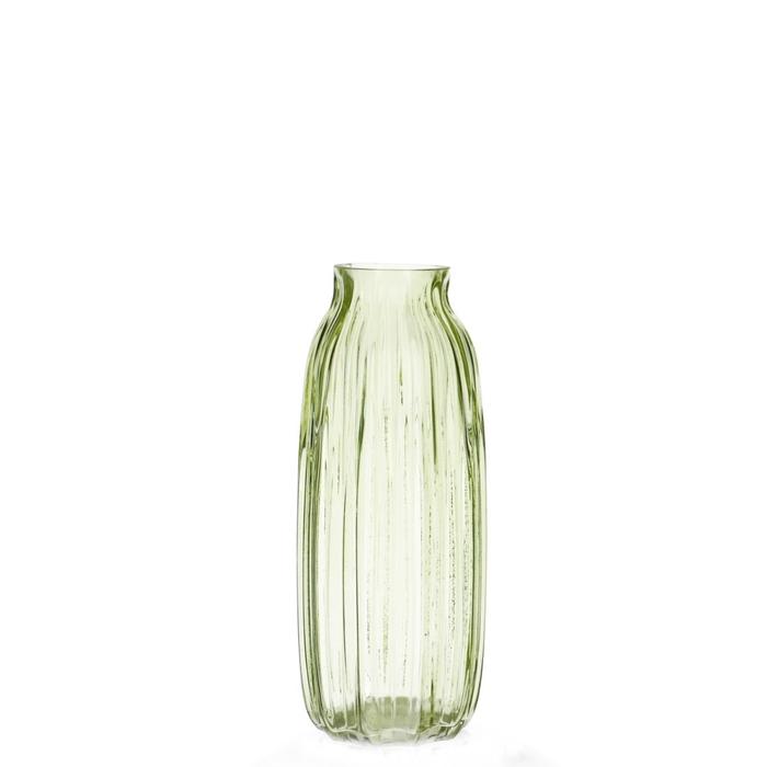 <h4>Glass colour Pattern vase d6/12*29.5cm</h4>