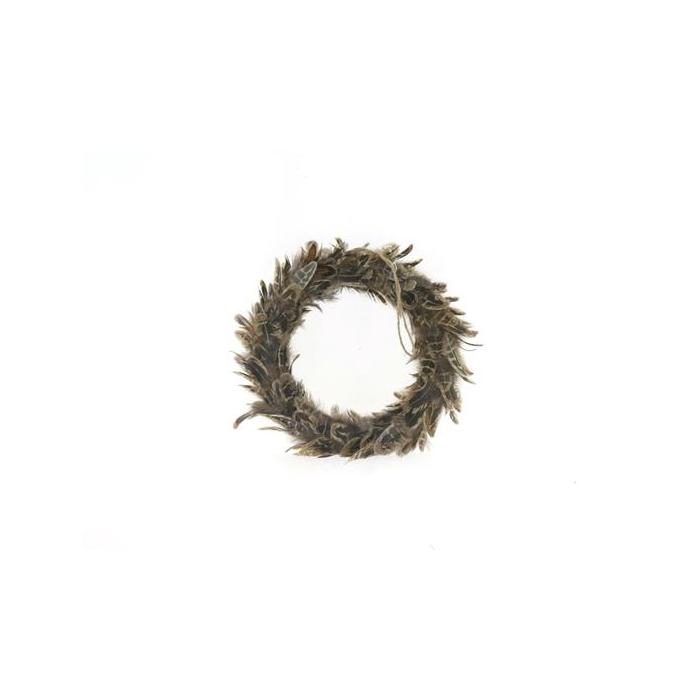 <h4>Wreath Feather Ø20cm 55588</h4>