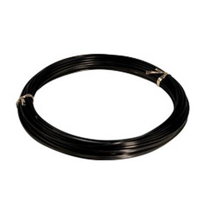 <h4>Gelakt aluminiumdraad - zwart 100 gram (12 meter)</h4>