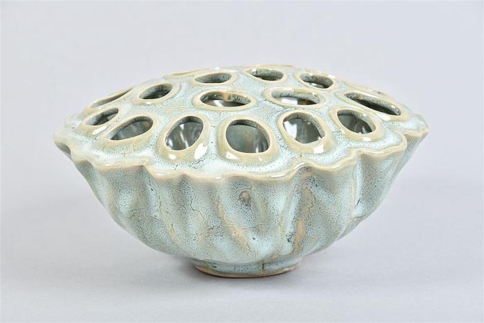 <h4>Lotus Schaal Aqua/mint 17x10cm</h4>