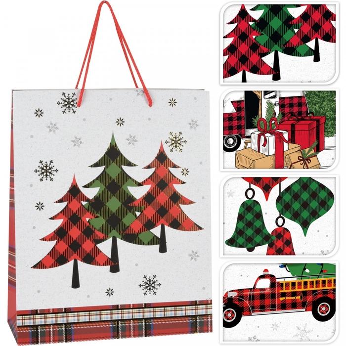 <h4>Christmas Bag christmas 18/8*24cm ass.</h4>
