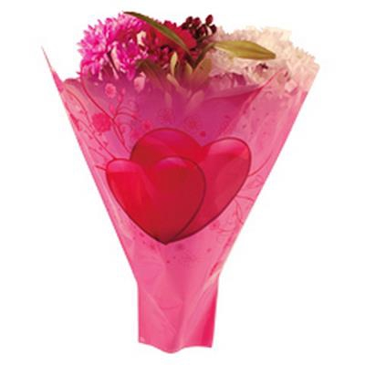 <h4>Housses imprimées 52x35x10cm Lovely rose</h4>