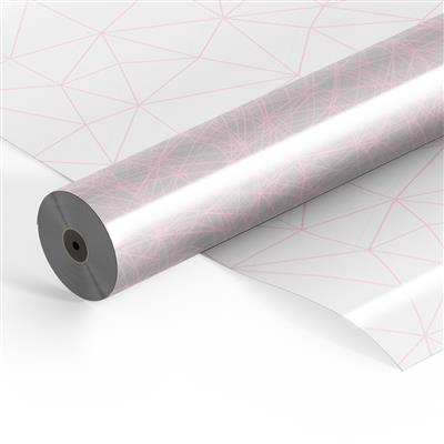<h4>Folie rol OPP35mu 100mtr x 80cm Diesel roze</h4>