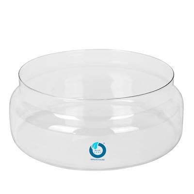 <h4>Schaal Belmont glas Ø25xH10cm recycled glas</h4>