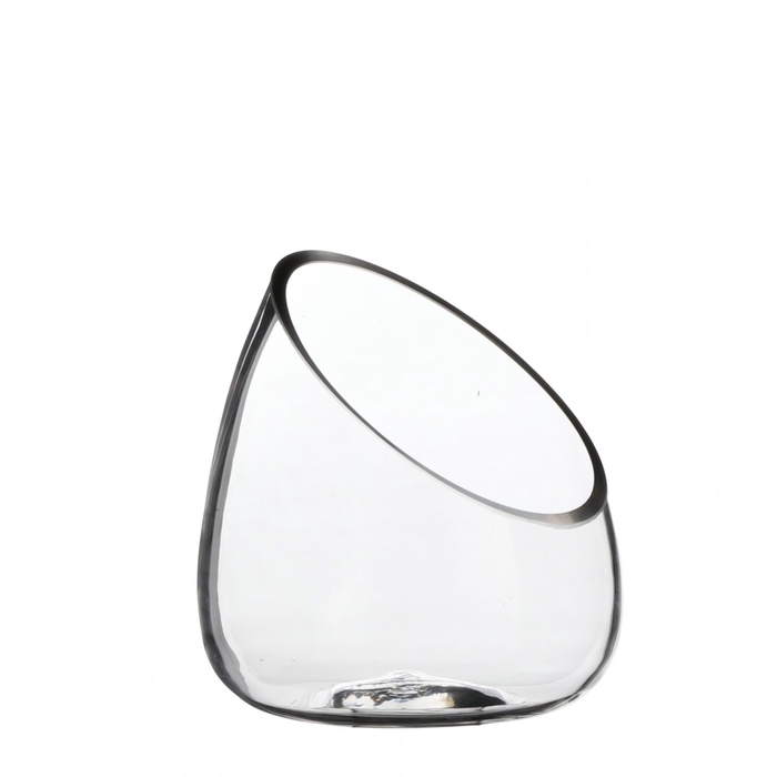 <h4>Glas Pot diagonaal d15*17cm</h4>