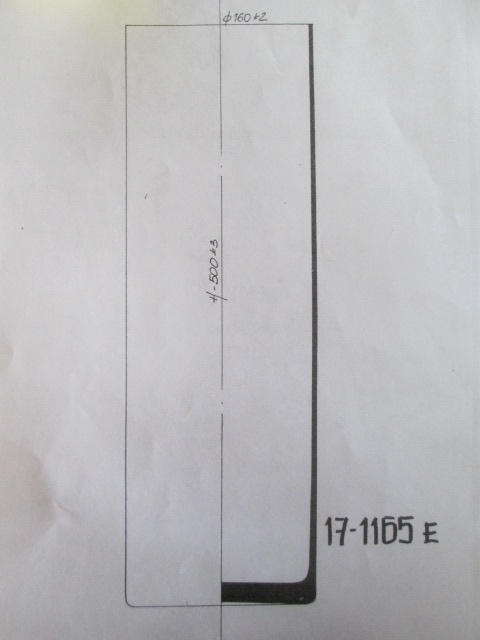 <h4>DF870625956 - Cylinder vase clear</h4>