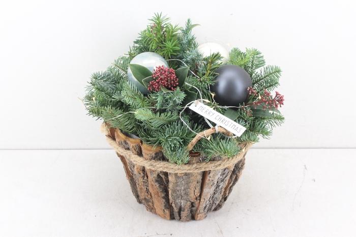 <h4>arr.. Kerst PL - Schors pot led</h4>