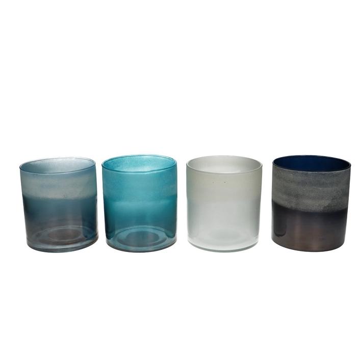 <h4>Candlelight Glass Hurricane d10*11cm ass</h4>