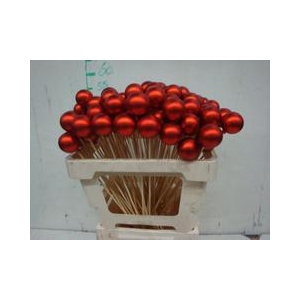 Bolas rojas 4cm