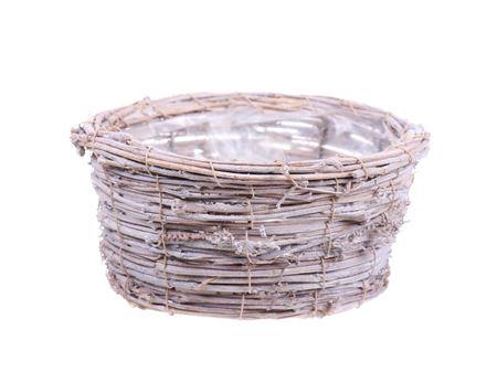 <h4>Basket Timbo d26xh10.5 white</h4>