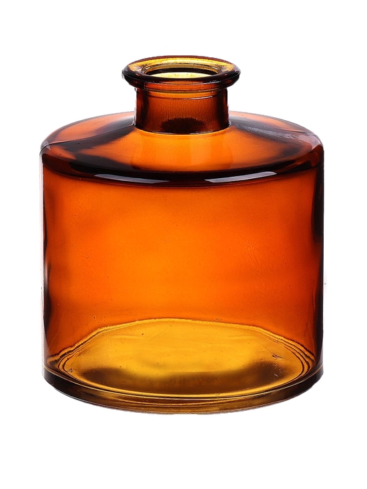 <h4>DF663411300 - Bottle Caro7 d9xh10.3 amber</h4>