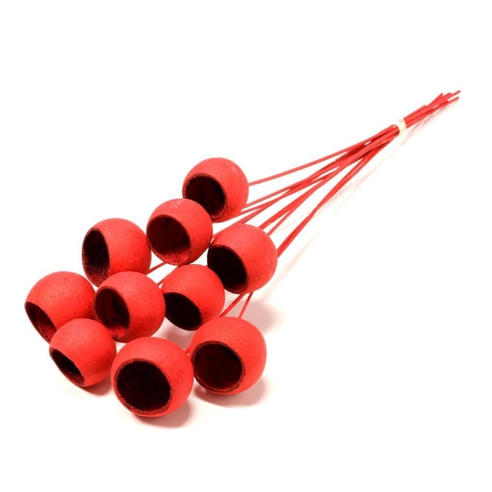 <h4>Bell cup o/s 10pc red</h4>