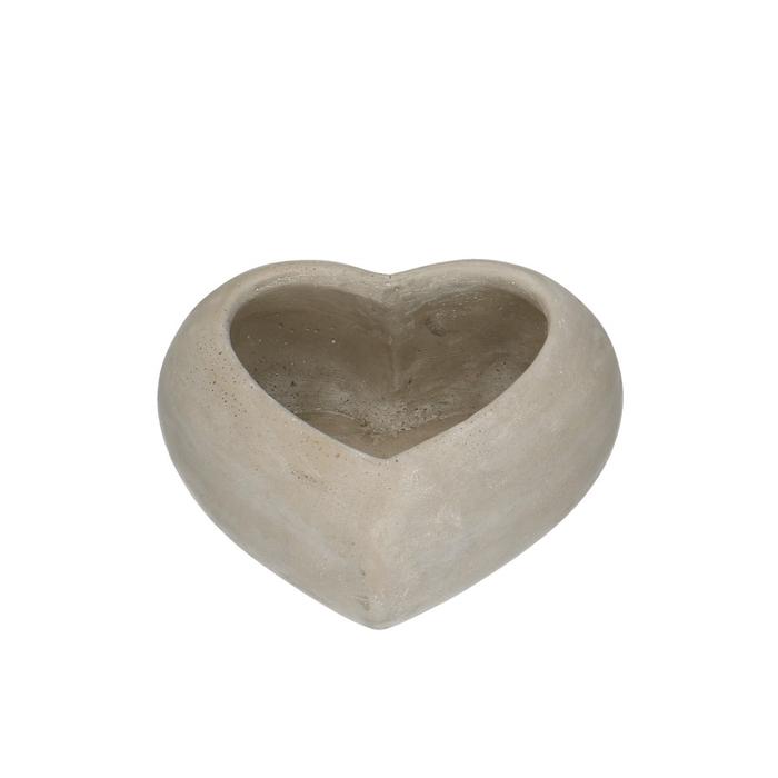 <h4>All Saints Planter heart d19/12*8cm</h4>
