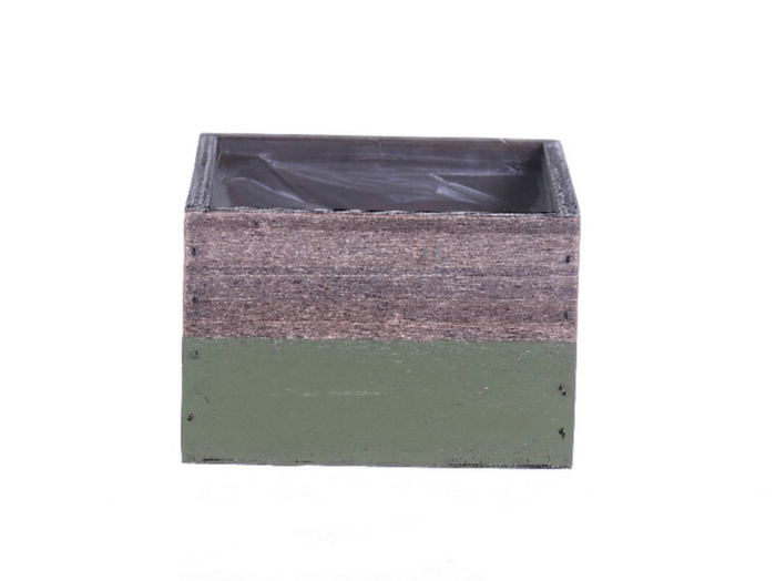<h4>DF500081800 - Planter Argo2 15x15x10 green</h4>